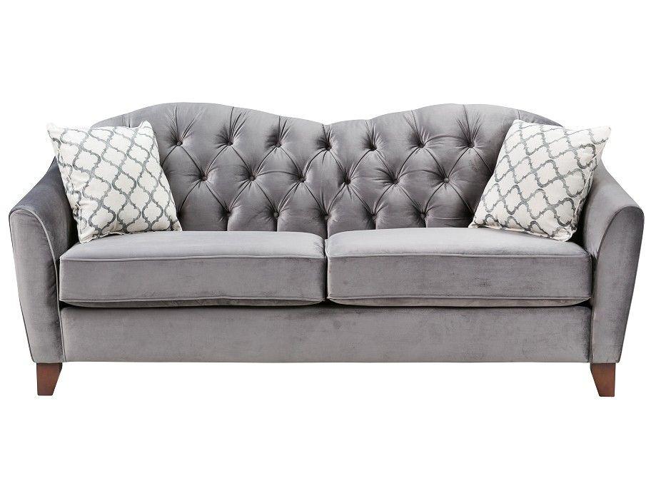 $899 Slumberland Cliveden Collection Grey Sofa