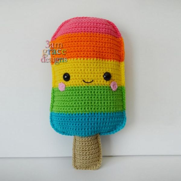 Download Kawaii Popsicle Amigurumi Pattern (FREE) | Feeling crafty ...