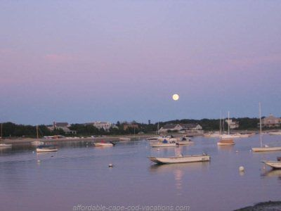 Moonrise at Englewood Beach in West Yarmouth, Cape Cod, MA ...