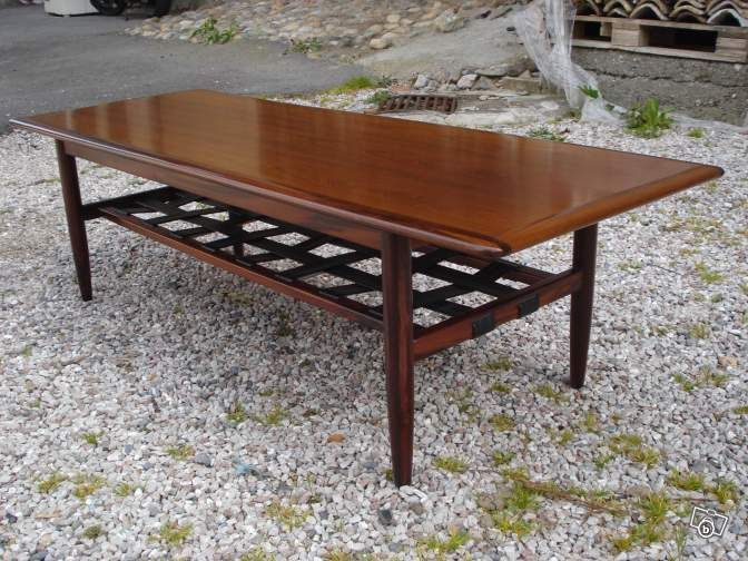Grande Table Basse Scandinave Arne Norell 60 70 Ameublement Haute Savoie Leboncoin Fr Table Basse Table Basse Scandinave Grande Table Basse