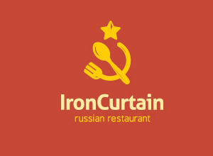 Iron Curtain Logo Boston Food Trucks Food Truck Design Truck