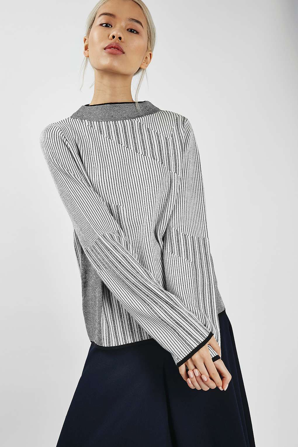 Mixed Stripe Jumper - Sweaters & Knits - Clothing | Moda ropa ...