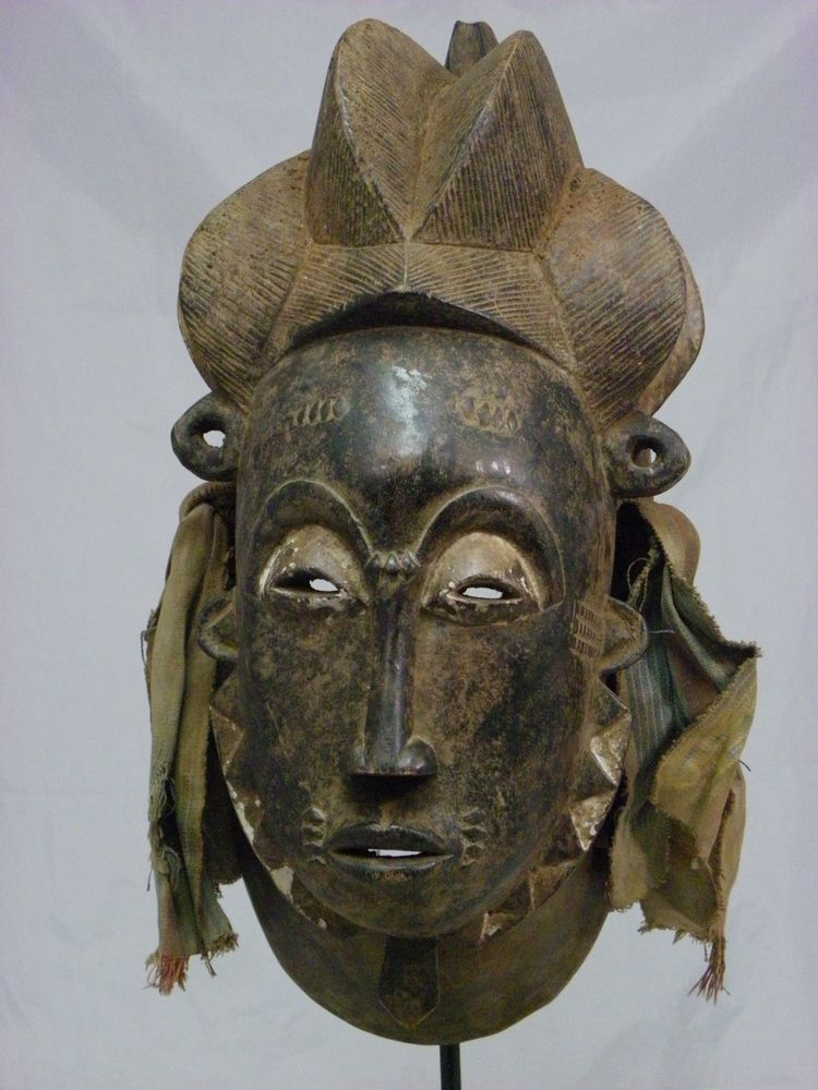 Beautiful African Tribal Mask,Baule Mblo Mask,Antique ...