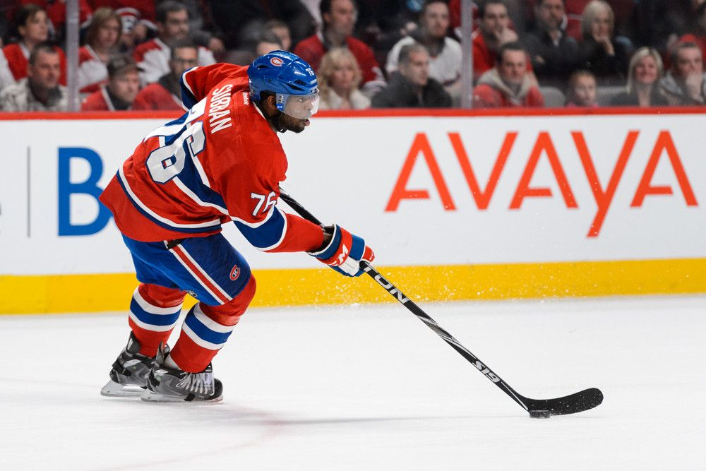 On Wednesday night, Montreal Canadiens' defenseman P.K. Subban set the hockey world ablaze.  If, somehow, you missed the video of the play, here's a look at Subban's two-handed chop to Ottawa Senators' rookie Mark Stone's forearm:  https://www.youtube.com/watch?v=f3T_hpAxtAk  The …