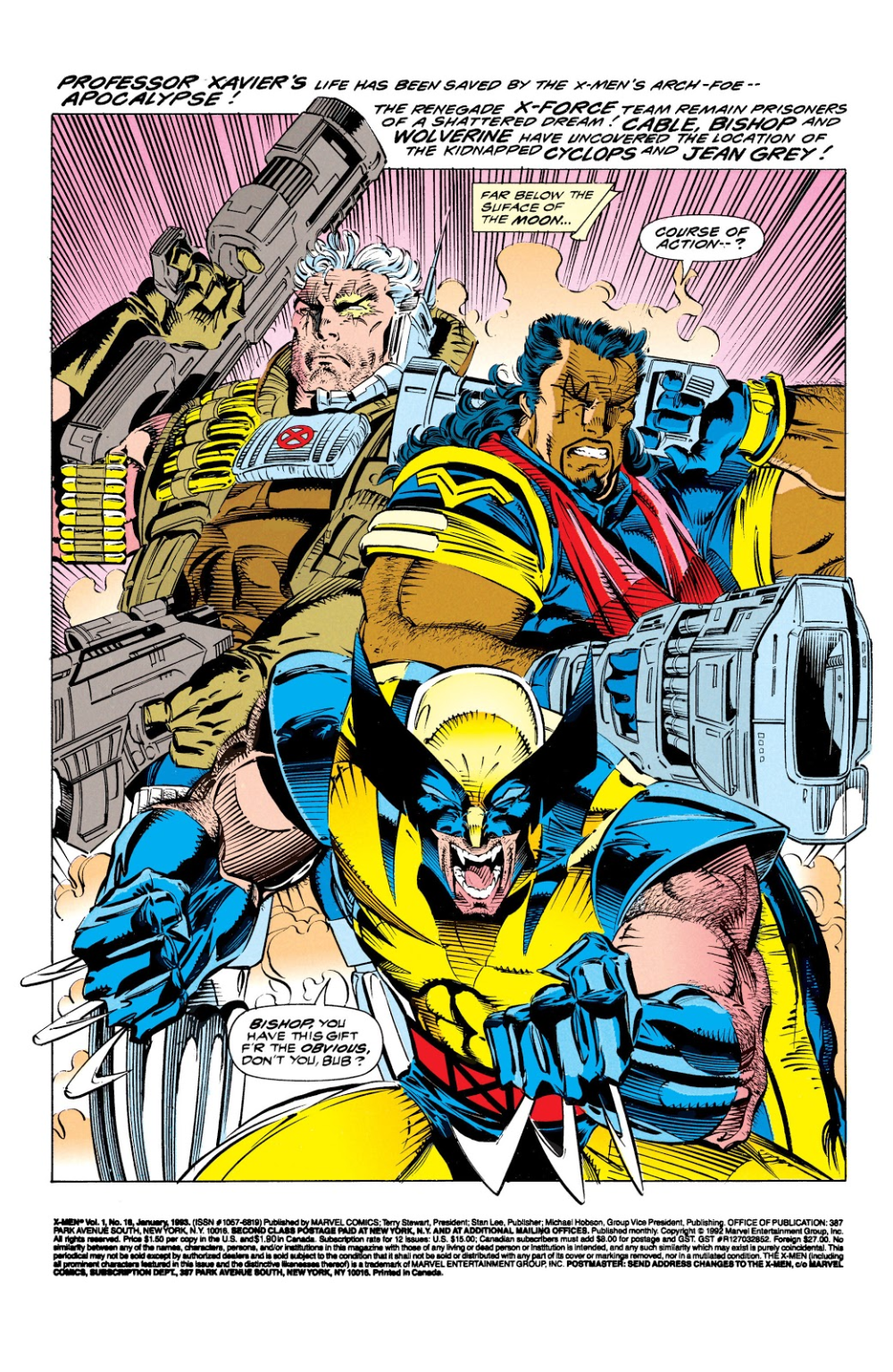 X Men 1991 Issue 16 Read X Men 1991 Issue 16 Comic Online In High Quality Wolverine Art Superhero Art Comic Book Artwork