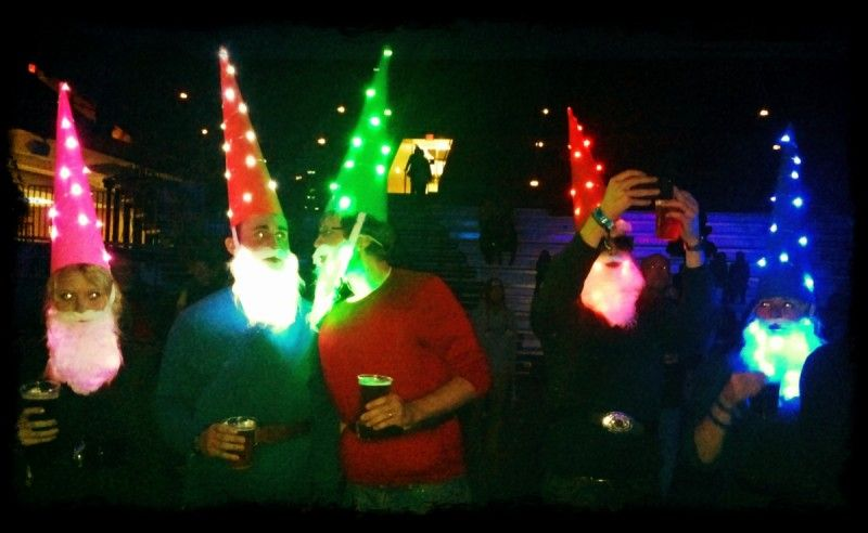 Loooove these led light up gnome costumes must make myself next loooove these led light up gnome costumes must make myself next halloween naturally the hats are great but the light up beards really go for the gold solutioingenieria Images