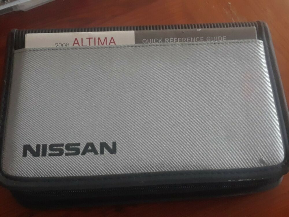 2008 Nissan Alimta Owners Manual Owners Manuals Nissan Altima