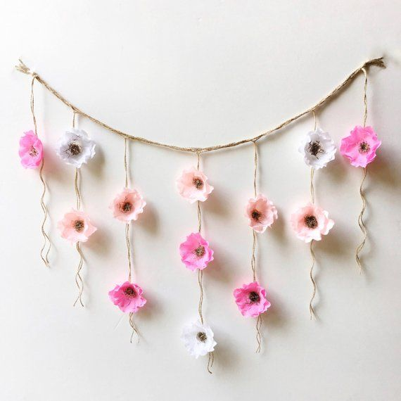 Set Of 2 Wall Hangings Products Hanging Flower Diy