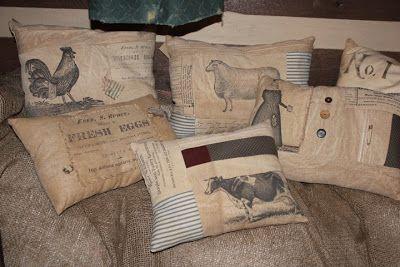 a fine farmhouse: Printing on Fabric