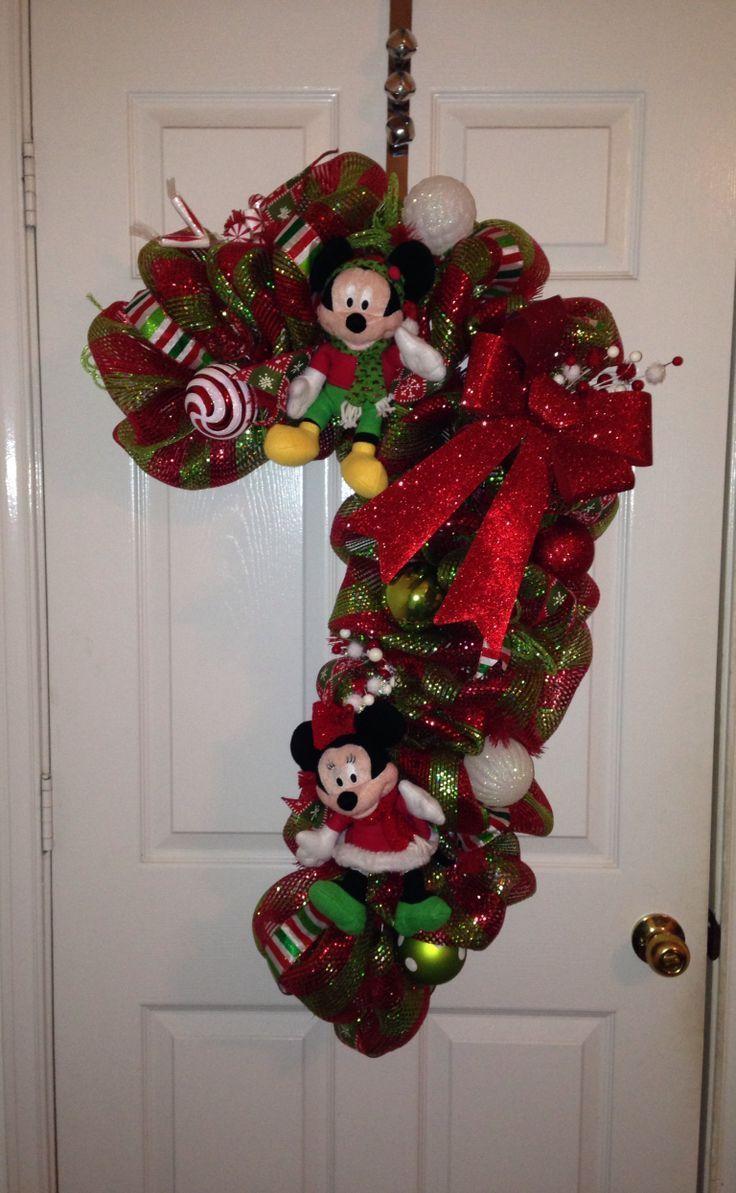 Mickey mouse decoracion navidad navidad disney en for Adornos navidenos mickey mouse