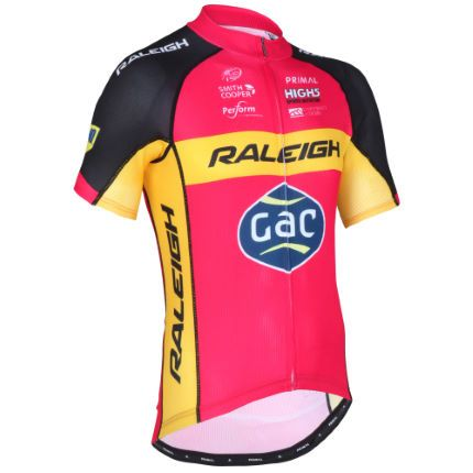 Team Raleigh jersey 2016 produced by Primal Europe