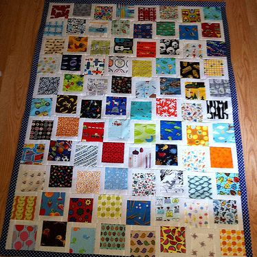 I Spy Quilts (blogger made one each for her son and daughter ... : i spy quilt pattern - Adamdwight.com