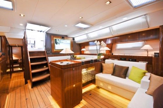 Inside Of The Amel 64 Theyachtownernet