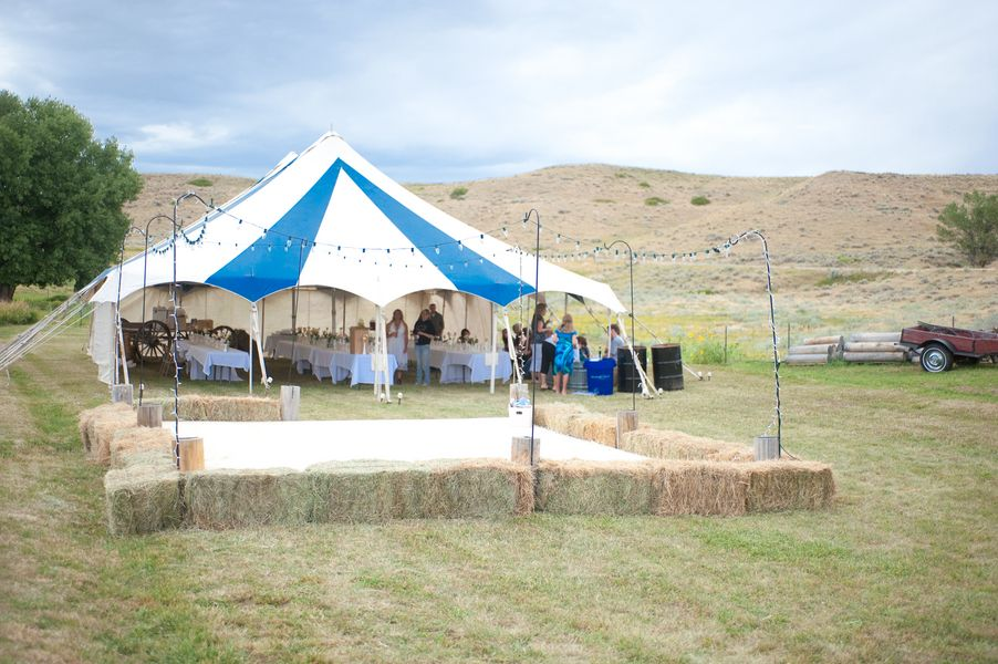Chris alis diy country wedding diy outdoor weddings