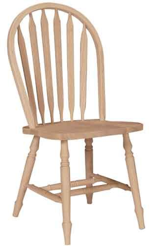 Arrowback Windsor Chair - Unfinished furniture New Jersey, New York ...