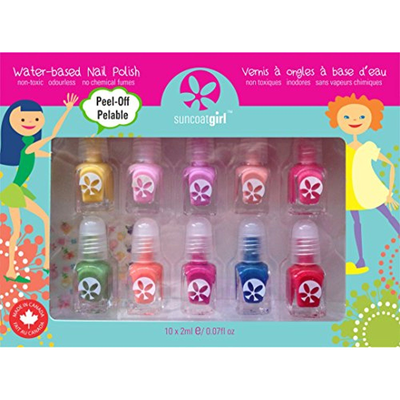 Suncoat Girl - 10 Pack Mini Nail Polish Gift Set for Girls (Party ...