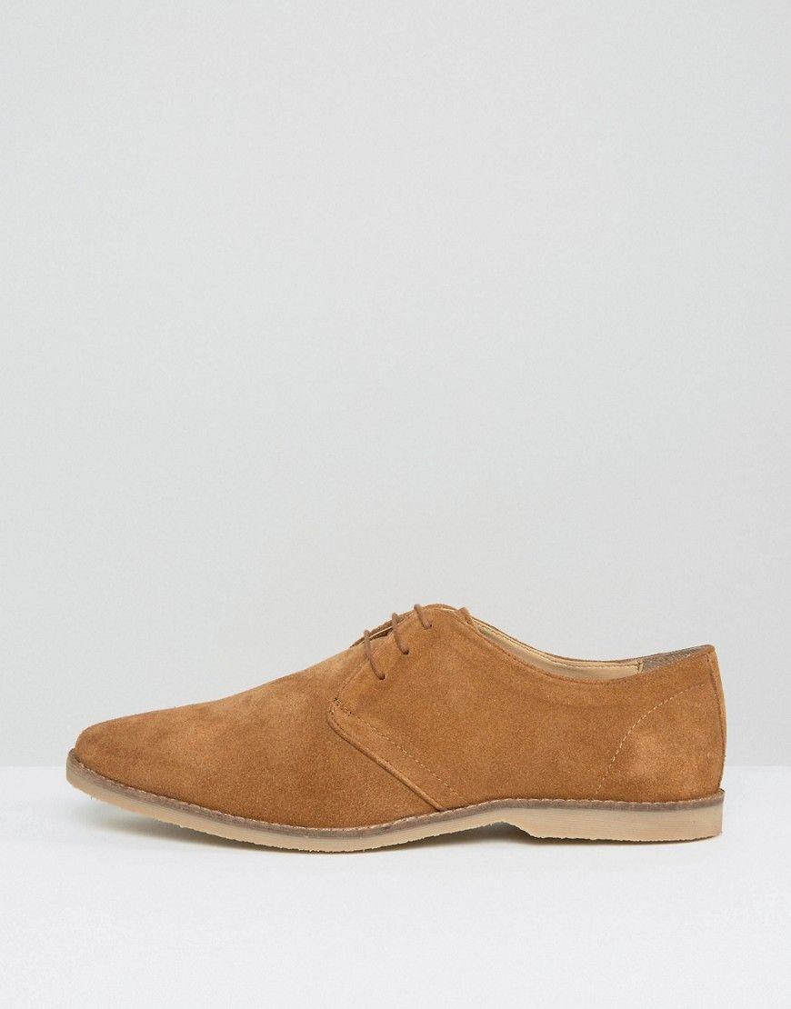 Chaussures Derby Asos En Daim Beige Avec Bordure Tan Réseau De Distribution - FKypRO5zo