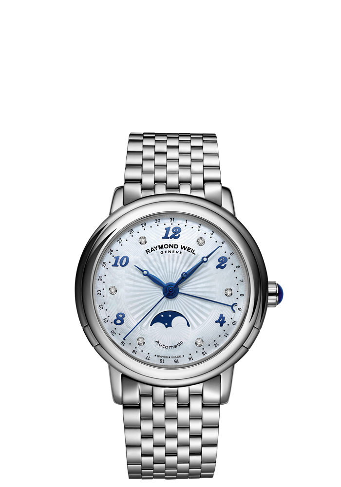 8b59b2a0b Maestro 2739-ST-05985 Ladies Watches - Automatic Moon phase Steel on steel 6