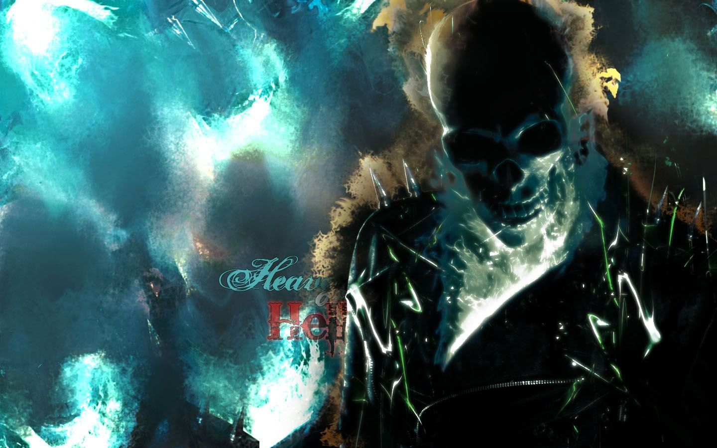 blue ghost rider wallpaper - wallpapersafari | beautiful wallpapers