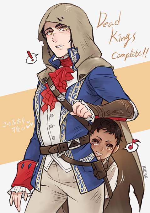 Anime Characters Unity : Ac dead kings arno and leon assassin s creed pinterest