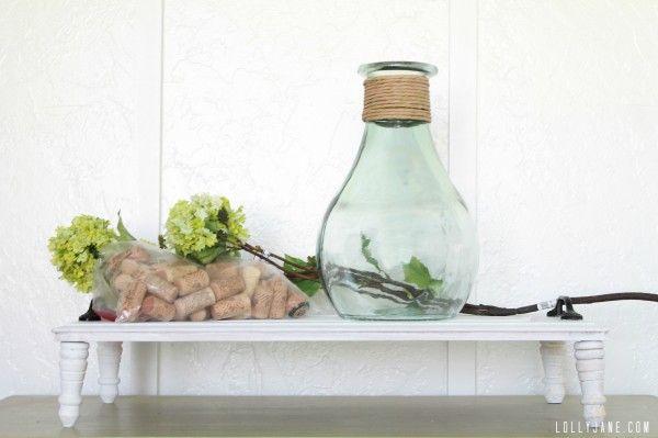 Cork Vase Filler Cork And Flower