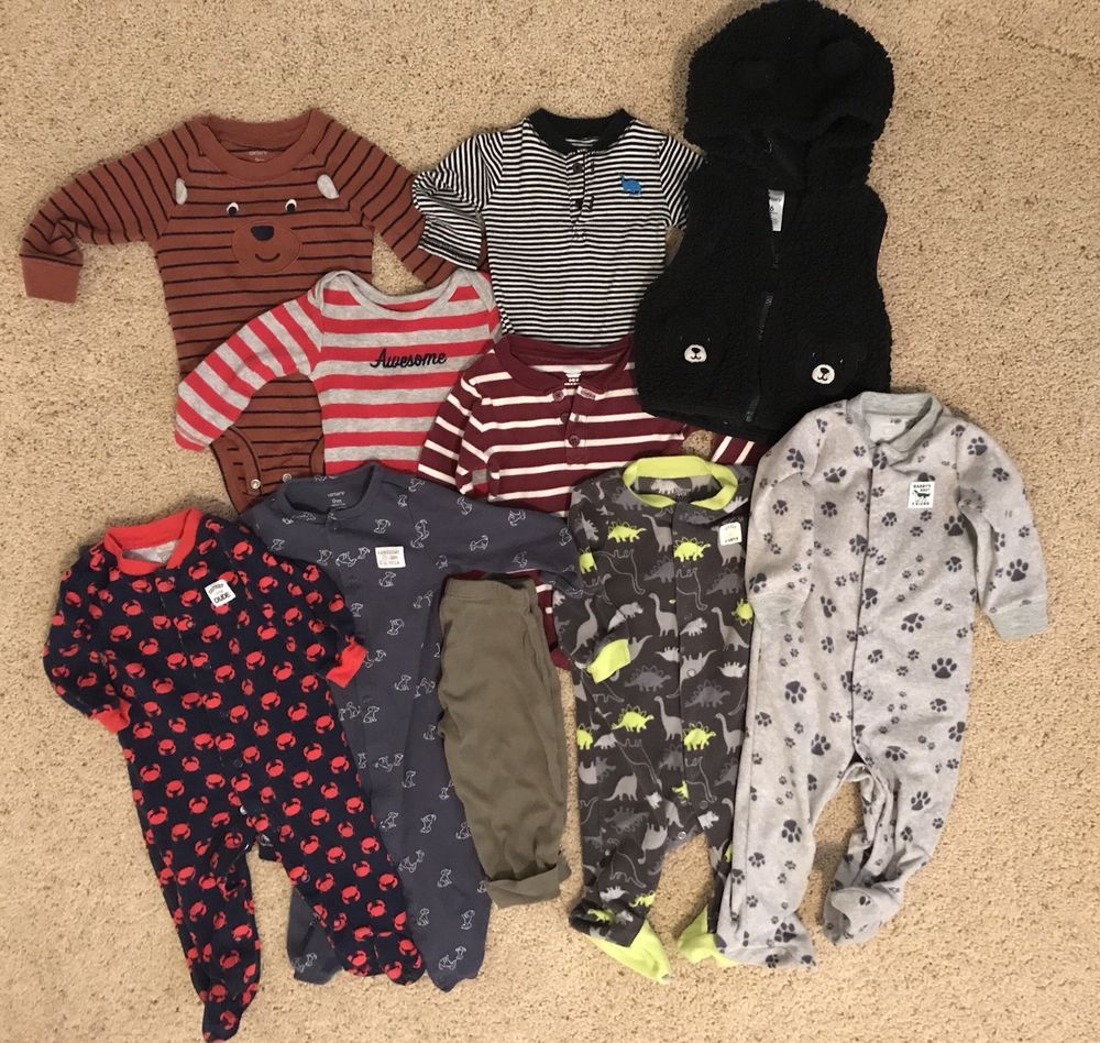 5a95f0351 6 Month 9 month baby boy clothes lot Carters Old Navy  fashion ...