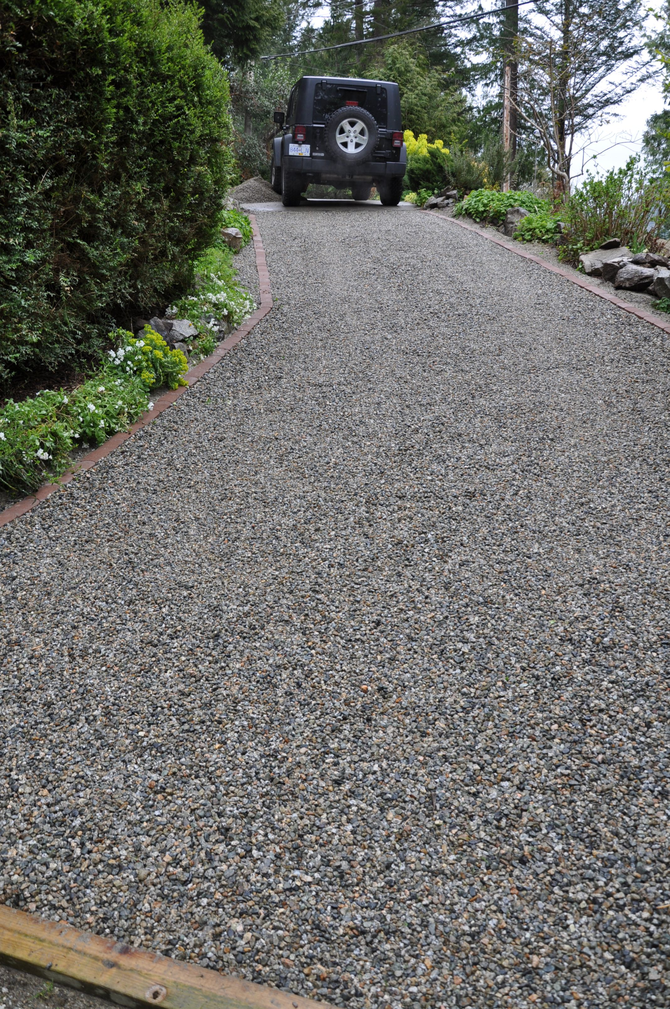 gravel landscaping core