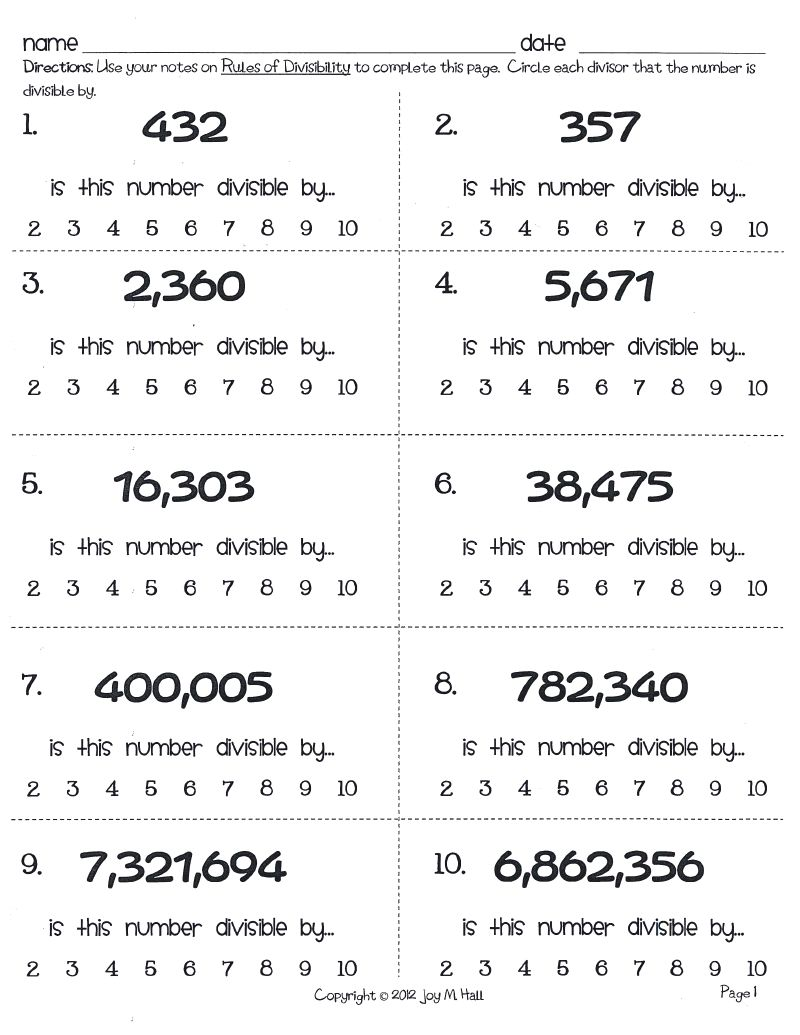 Free Worksheet Divisibility Rules Worksheet divisibility rules worksheets delibertad worksheet joindesignseattle worksheet