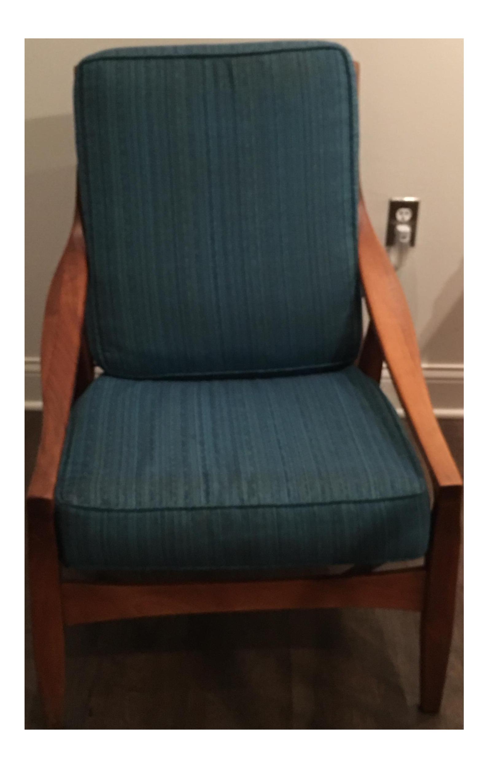 Best Mid Century Modern Blue Armchair Club Chairs Blue Armchair 400 x 300
