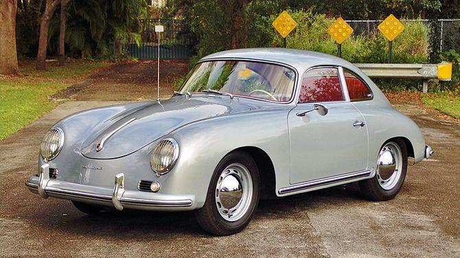 1958 Porsche 356a Coupe Coachwork By Reutter Mecum Auctions Porsche 356 Porsche Porsche Cars