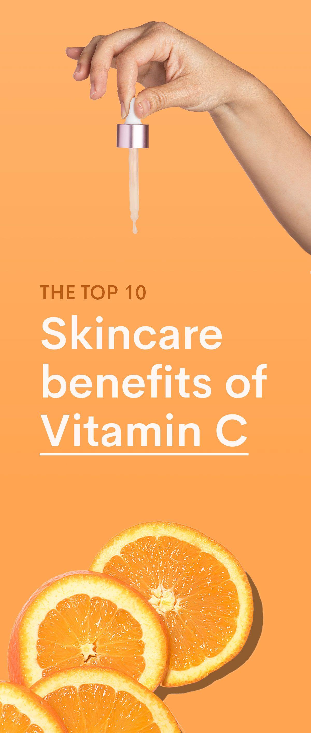Vitamin C Skin Benefits Why This Ingredient Can Help Your Skin Skin Benefits Vitamin C Benefits Skin Care Benefits