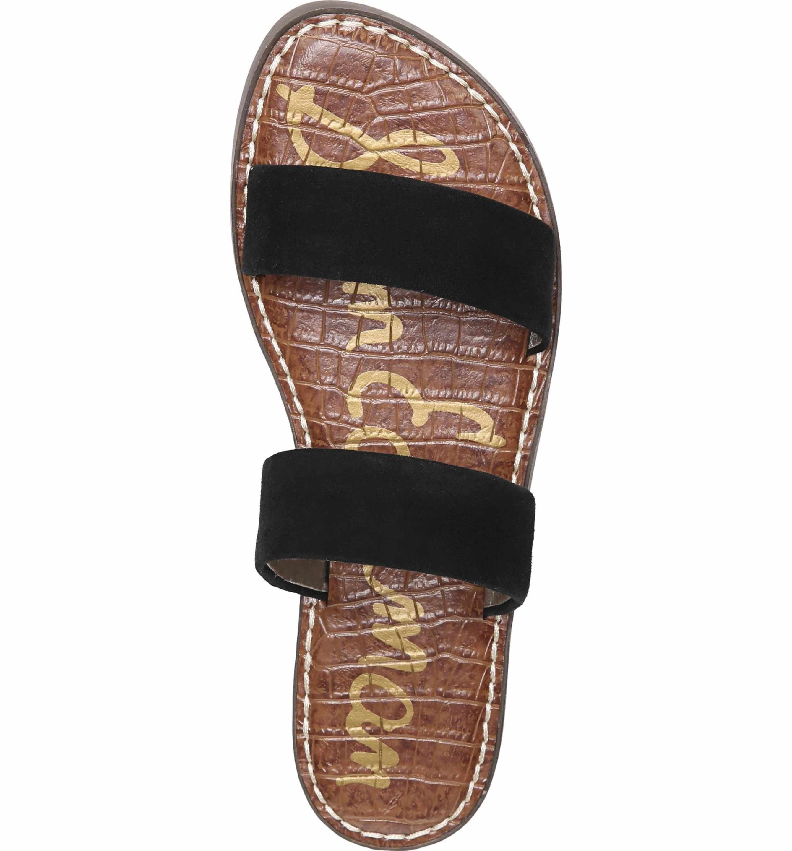 bccabe922e0 Main Image - Sam Edelman Gala Two Strap Slide Sandal (Women)