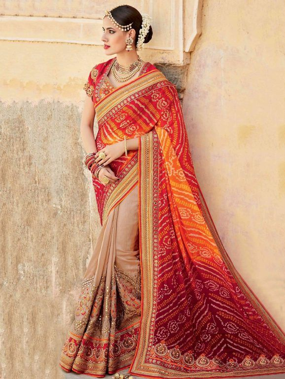 10da82182f Indian Wedding Saree Latest Designs & Trends 2019-2029 Collection ...