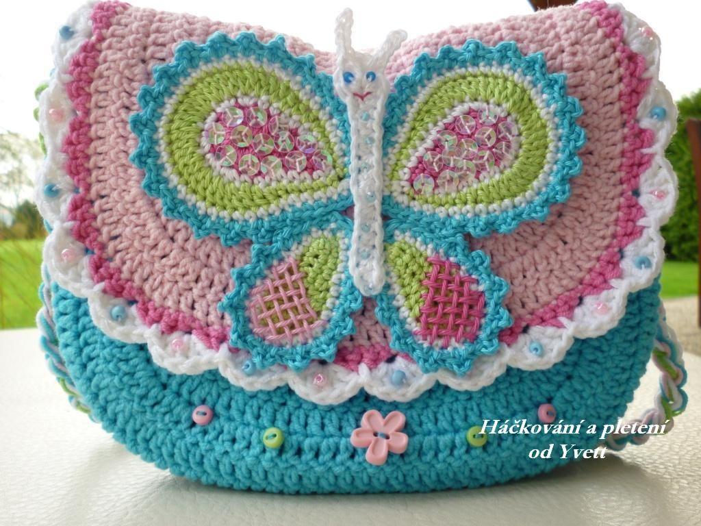 háčkovaná kabelka návod - Buscar con Google | crochet | Pinterest ...