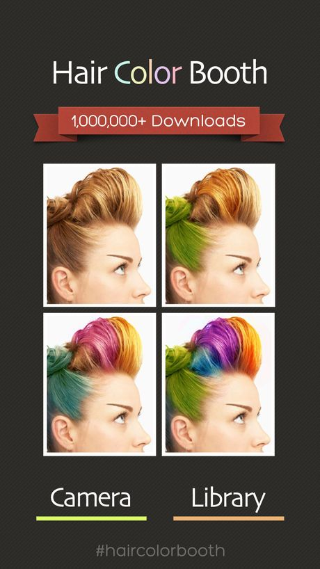 Hair Color Booth™ on the App Store | Amsterdam | Pinterest | Hair ...