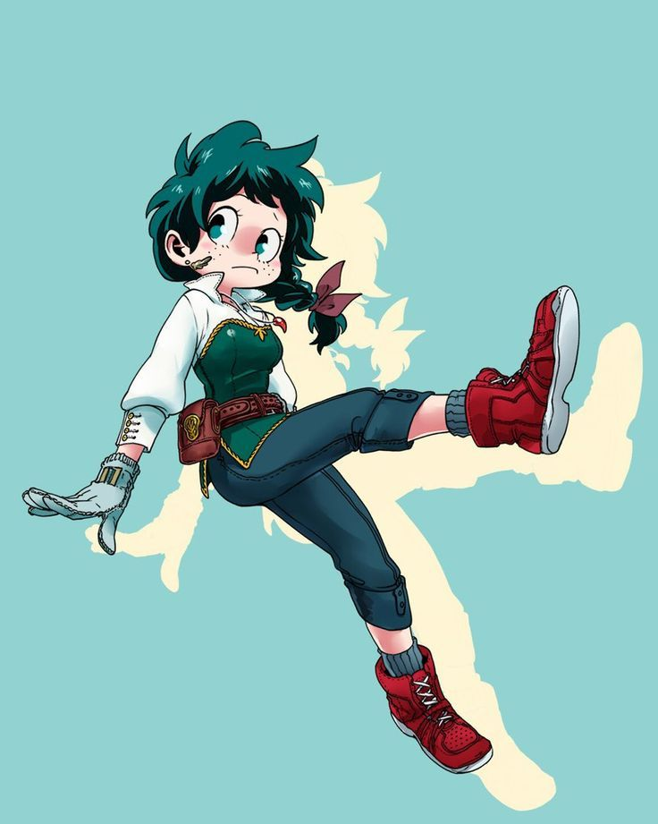 My Female Hero Academia | gender bender my hero academia heroes design animation drawings ...