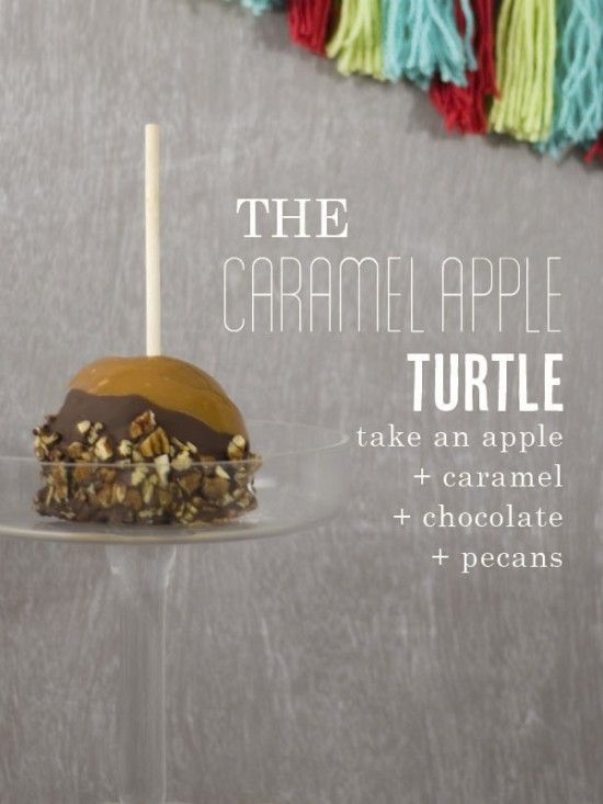 caramel apple party {One Charming Party} EAT Autumn Sweet + - sweet 16 halloween party ideas
