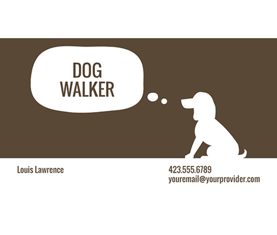 Download this dog walker business card template and other free download this dog walker business card template and other free printables from myscrapnook colourmoves
