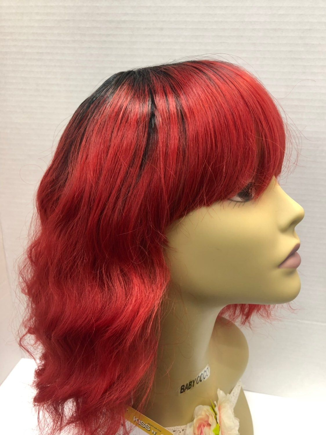 Premium Wig Color Ttred Heat Resistant Stretchable Cap With Adjustable Straps You Will Receive A Brand New One That Was Wig Colors Long Hair Styles Hair Styles