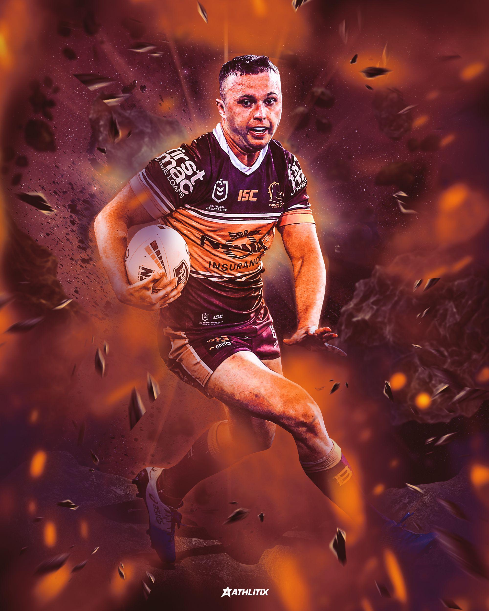 Jake Turpin Brisbane Broncos in 2020 Brisbane broncos