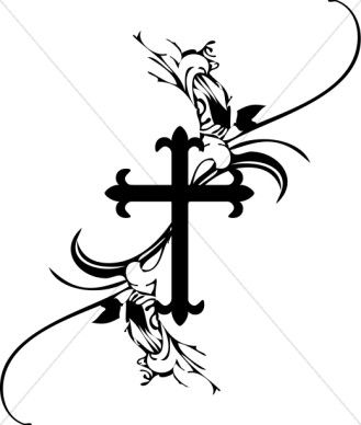 french cross clipart pinterest clip art and journaling rh pinterest co uk clip art of crosses and bibles clipart of crosses free