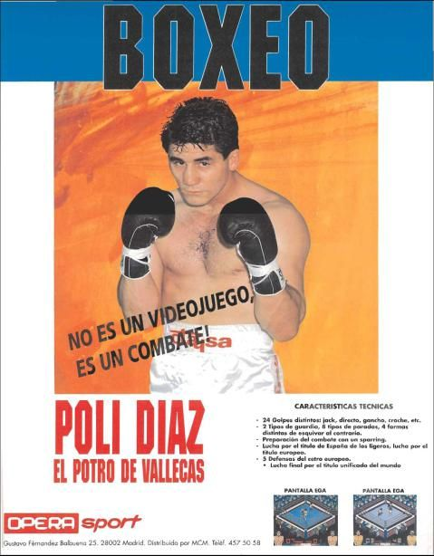 Poli Diaz Boxing