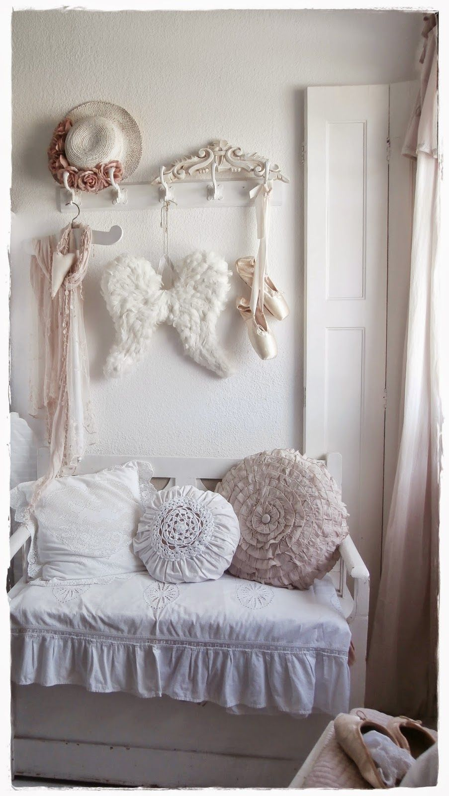 shabby and charming a romantic house shabby chic style belonging to sigrid in the center of. Black Bedroom Furniture Sets. Home Design Ideas
