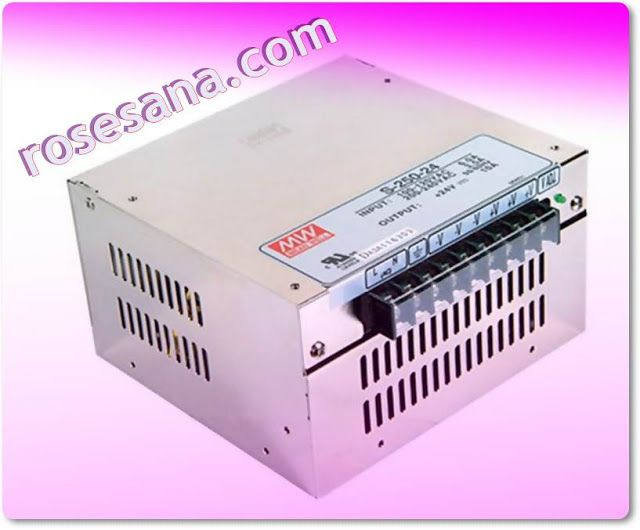 2R Hardware & Electronics: Meanwell S-250-24 Industrial Standard Power Supply...