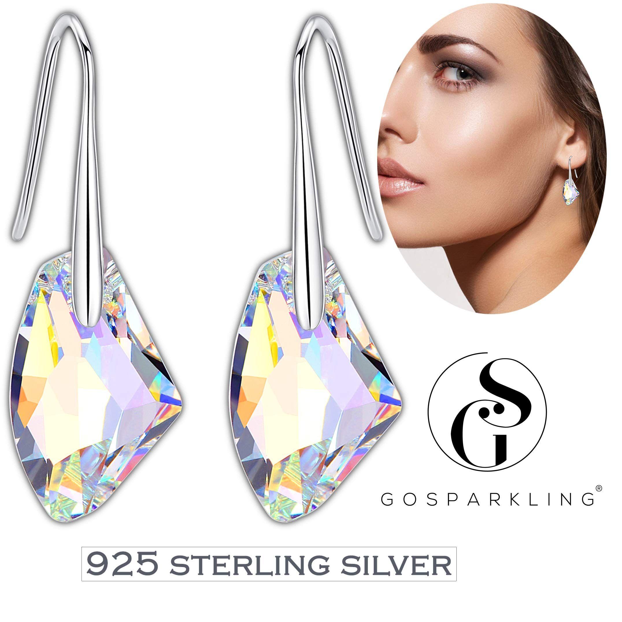 For Her Christmas Gift Ideas Gemstone Earrings Mother/'s Day. Petite Earrings Sterling Silver Lever Backs Citrine Drop Earrings