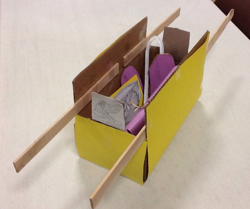 Ark of the covenant craft each student made a different for The ark of craft