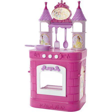 Disney Princess Magical Play Kitchen Walmart Com Disney Princess Kitchen Play Kitchen Disney Kitchen
