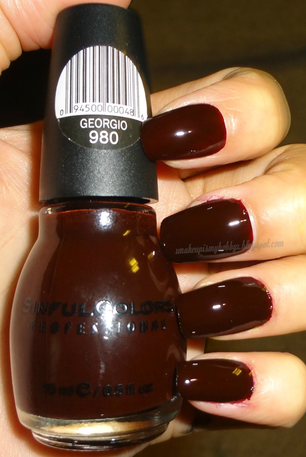 MUIMH: Sinful Colors Nail Polish Swatches. Wish they have this color ...