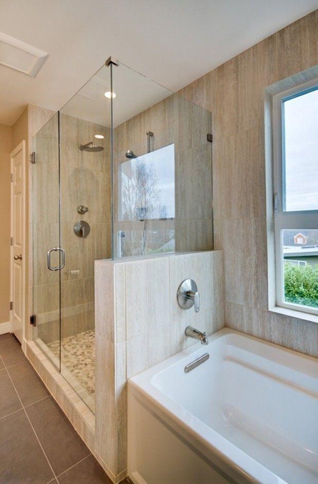 Cost Of Pebble Shower Floor Pebble Tile Shower Floor Small Bathroom Pinte