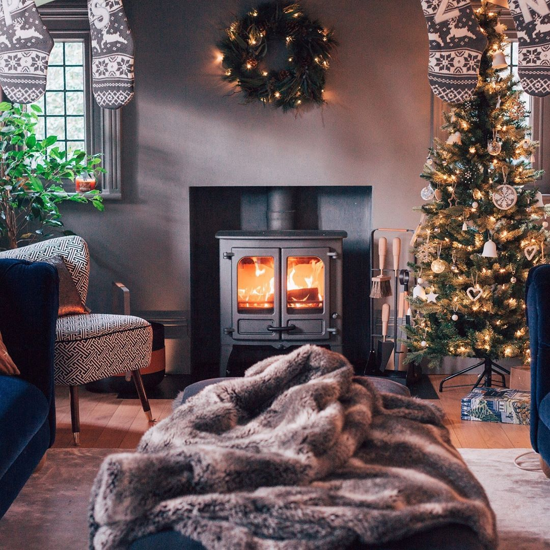 The cosiest Christmas setup, ready for the 1st of December
